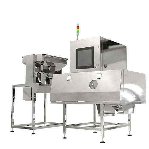 New Large-throughput Integrated X-ray Inspection Machine for Bulk Materials
